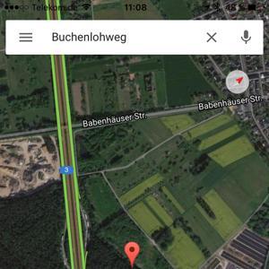Mainhausen A3 beide Richtungen